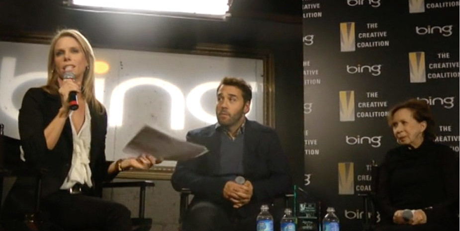 Interview with Cheryl Hines & Jeremy Piven